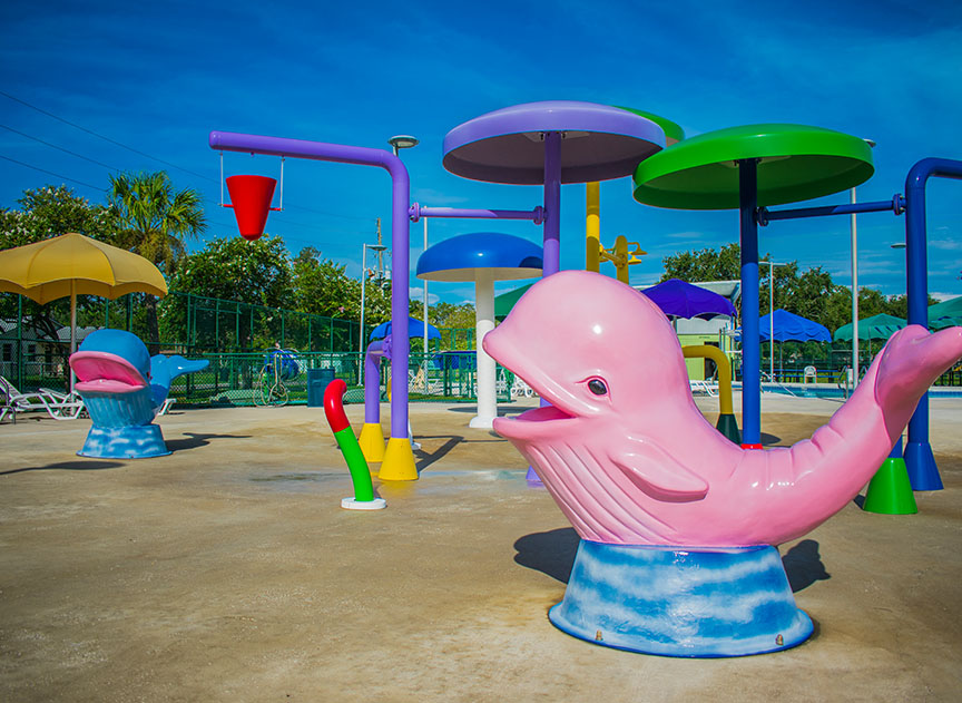 Childs Park Pool Play Area