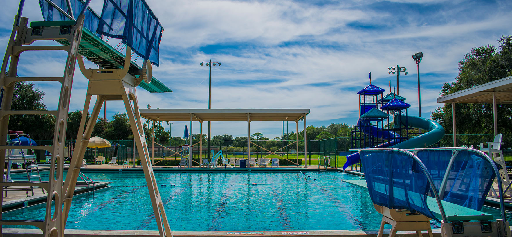 Fossil Park Pool Diving Boards
